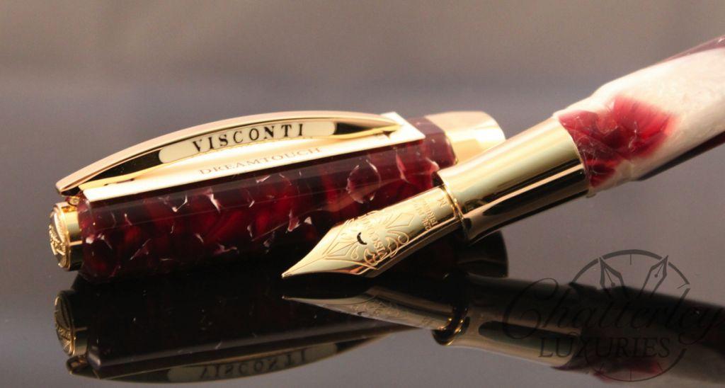 Visconti Opera Elements Red Fire Fountain Pen