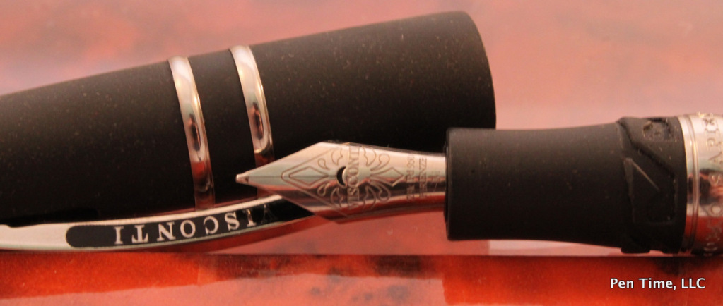 Visconti Fountain Homo Sapiens Lava Steel Age Midi size