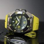 Linde Werdelin Oktopus II Titanium Yellow Limited Edition Dive Watch