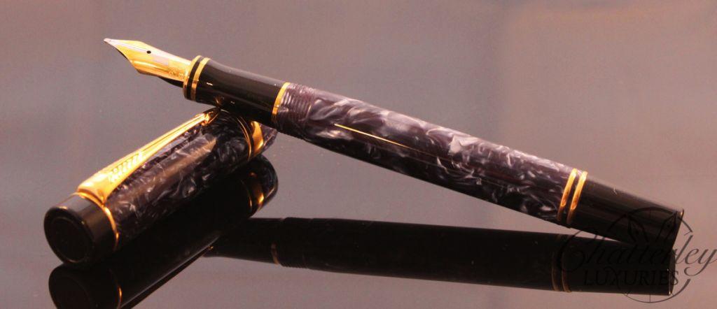 Parker Blue Duofold Centennial Fountain Pen