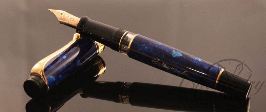 how to write calligraphy with a fountain pen