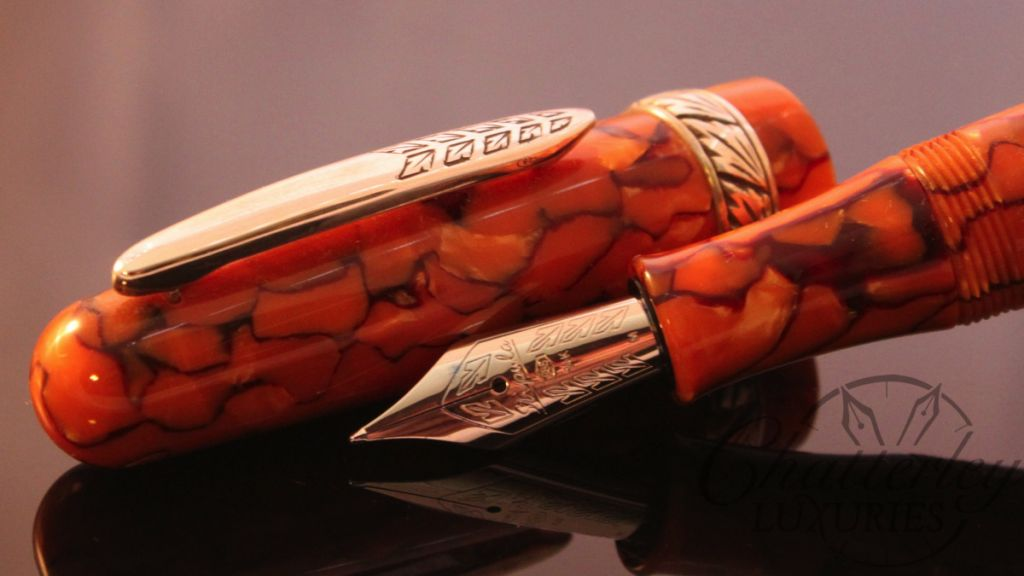 Stipula Etruria Alter Ego Celluloid Fountain Pen (2)