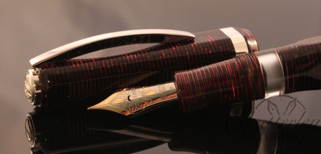 Visconti Wall Street Limited Edition Red Fountain Pen (1)