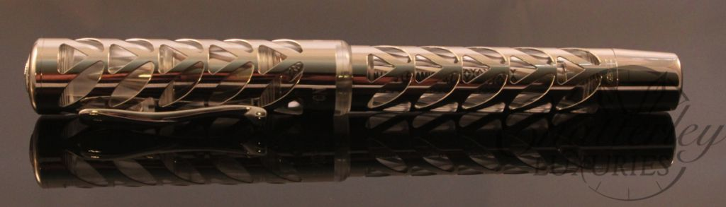 Visconti Sterling Silver Skeleton Limited Edition Rollerball (3)