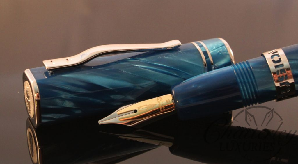 Chatterley Pens / Delta Turchese Fusion 1 Limited Edition Fountain Pen