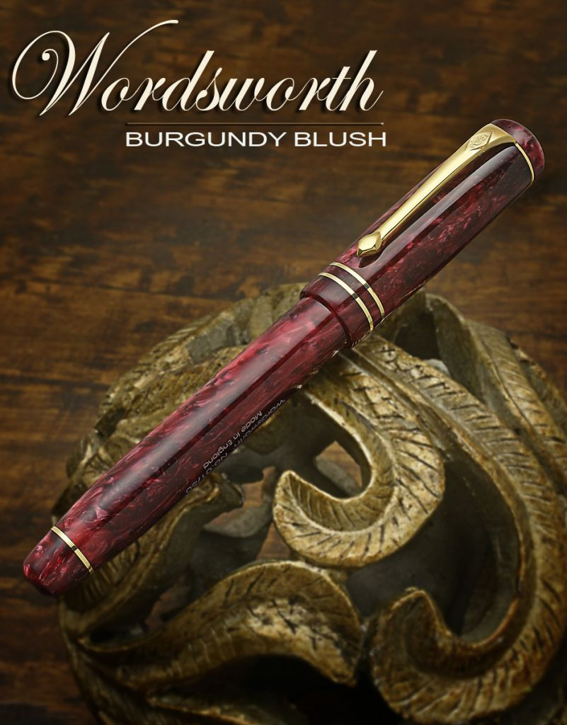 Conway Stewart Burgundy Blush wordsworth