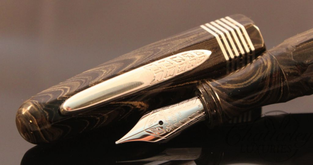 Stipula / Chatterley Pens Faceted Oversize Etruria Limited Edition Fountain Pen
