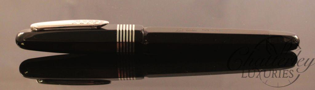 Stipula Etruria Faceted Black Ebonite Limited Edition
