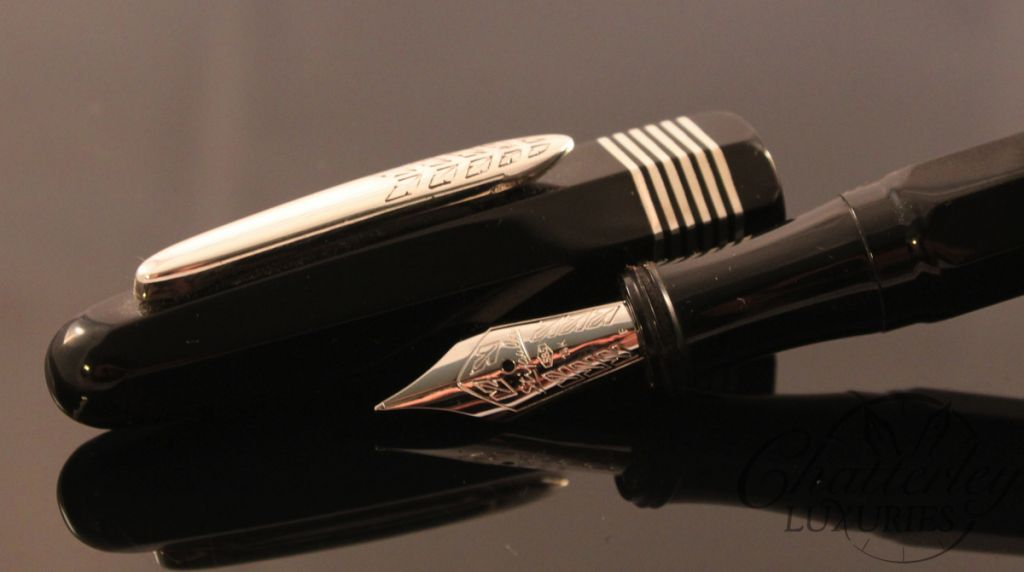 Stipula Etruria Faceted Black Ebonite Limited Edition