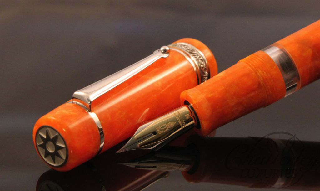 Delta / Chatterley Fusion Limited Edition Dolce Argento Fountain Pen