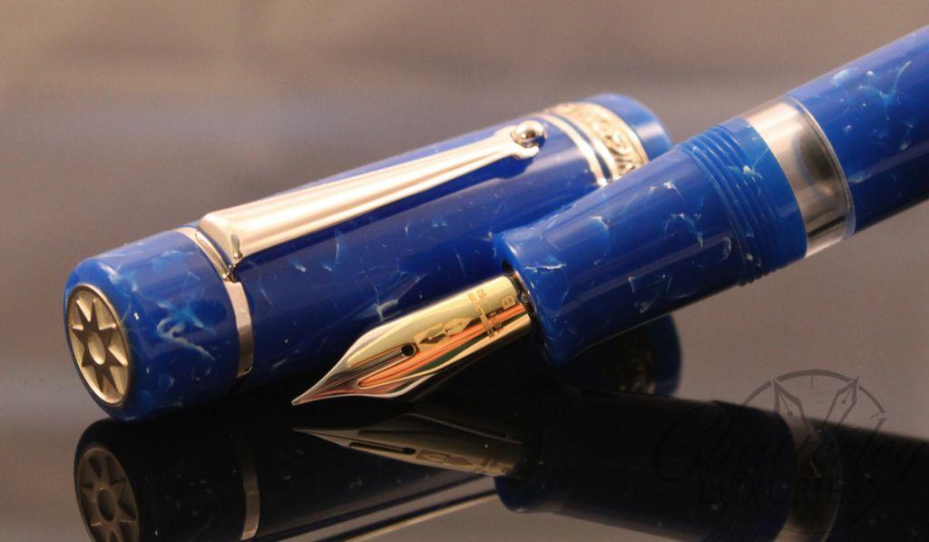 Delta / Chatterley Pens Fusion Limited Edition Classico Azzurro Fountain Pen