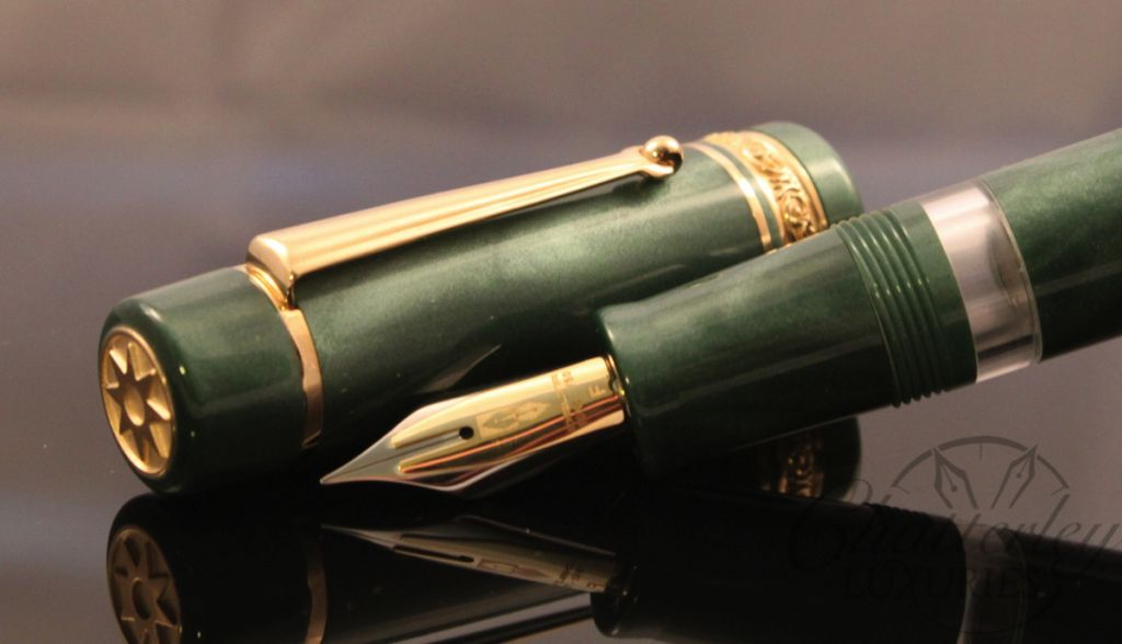 Delta / Chatterley Pens Fusion Limited Edition Satin Green Fountain Pen
