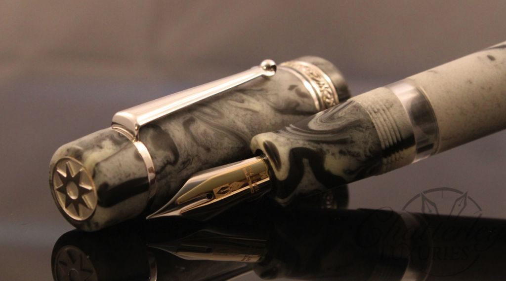 Delta / Chatterley Pens Fusion Limited Edition Black Ice Fountain Pen
