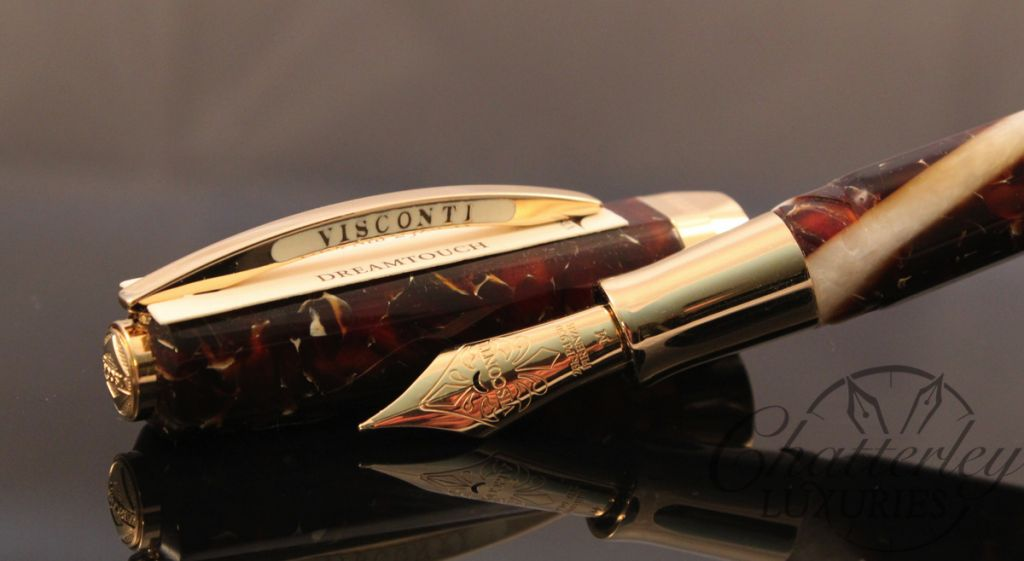 Visconti Opera Elements Air Amber Yellow Fountain Pen