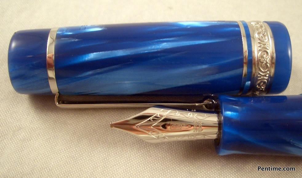 Delta Turchese Meraviglia stantuffo fountain pen11