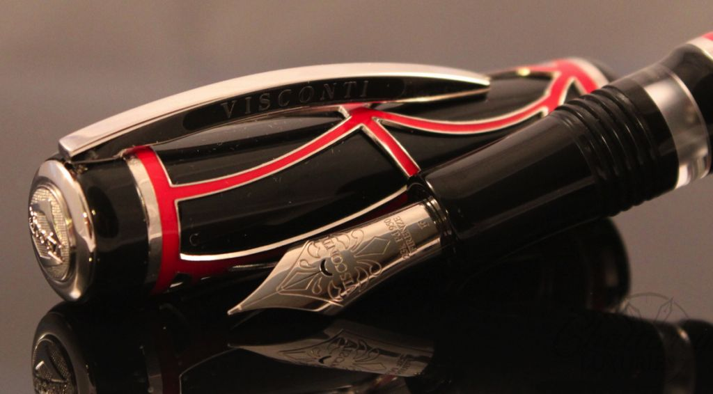 Visconti RED Istos Aracnis Limited Edition Fountain Pen