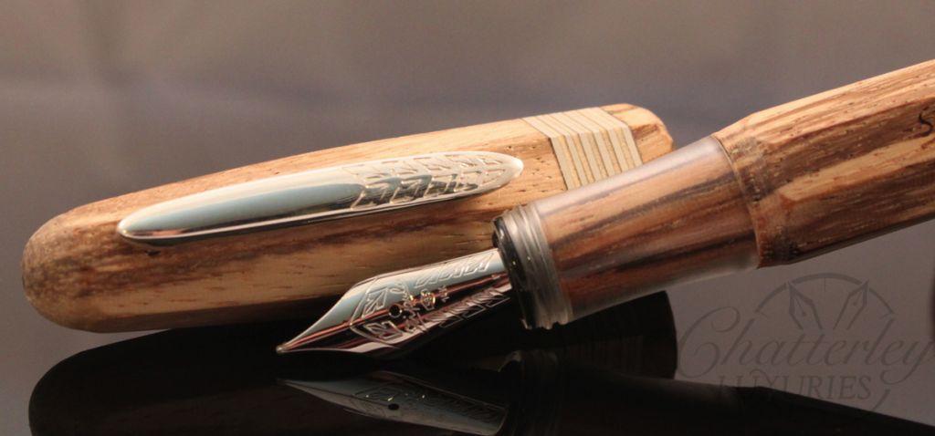 Stipula Etruria Wood Limited Edition Fountain Pen