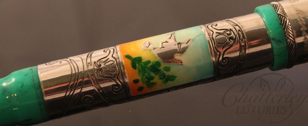 Marlen Liberty Green Art Nouveau Limited Edition Fountain Pen