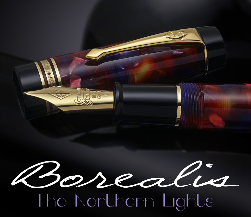 Conway Stewart Belliver Borealis Limited Edition Northern Lights Fountain Pen2