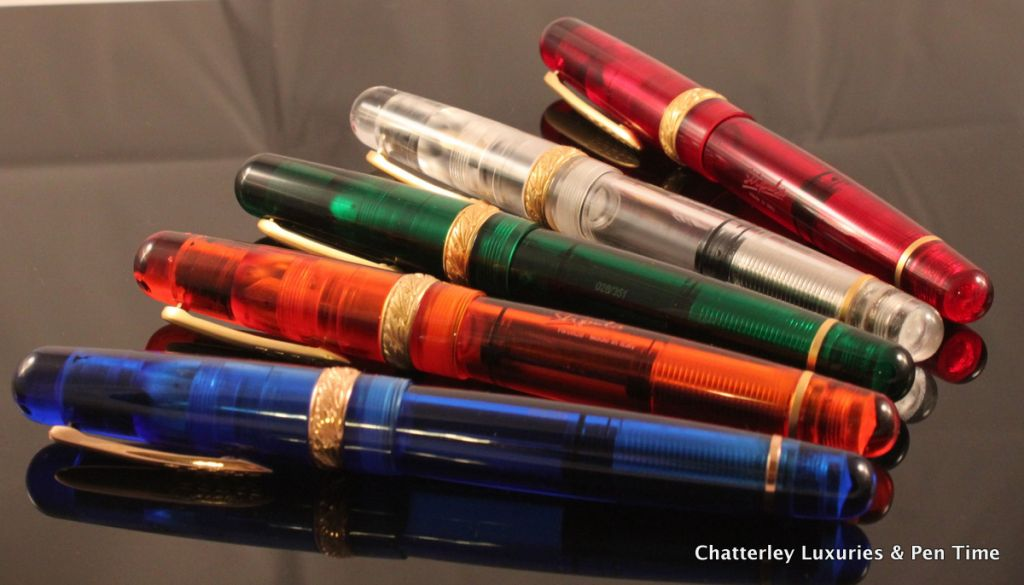Stipula Rainbow Piston Limited Edition Fountain Pen