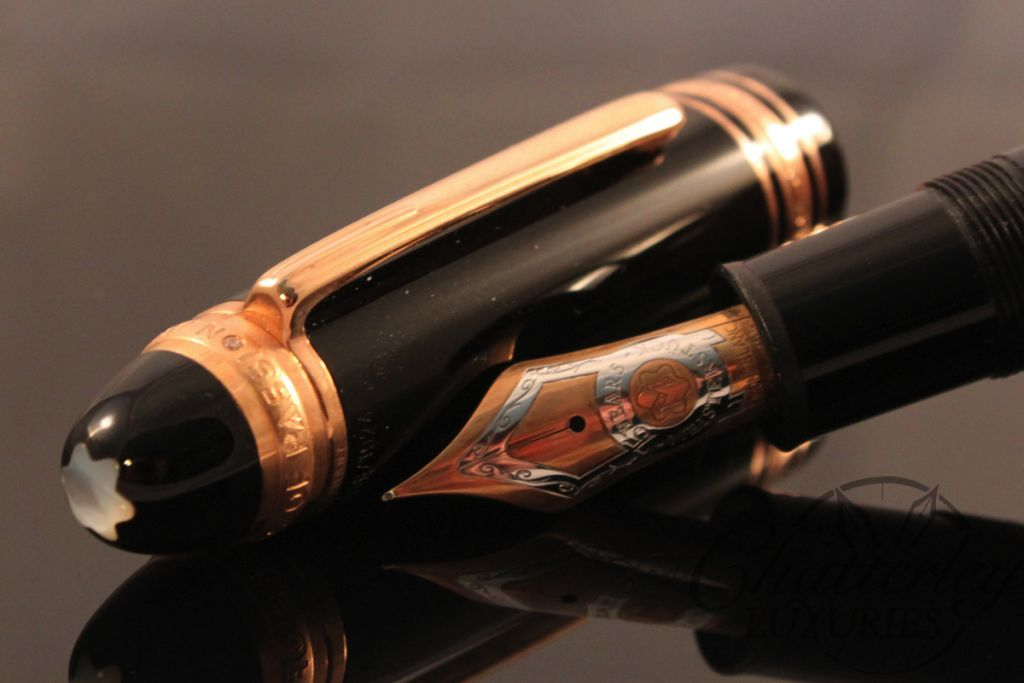 Montblanc Limited Edition 149 Fountain Pen Rose Gold 75th