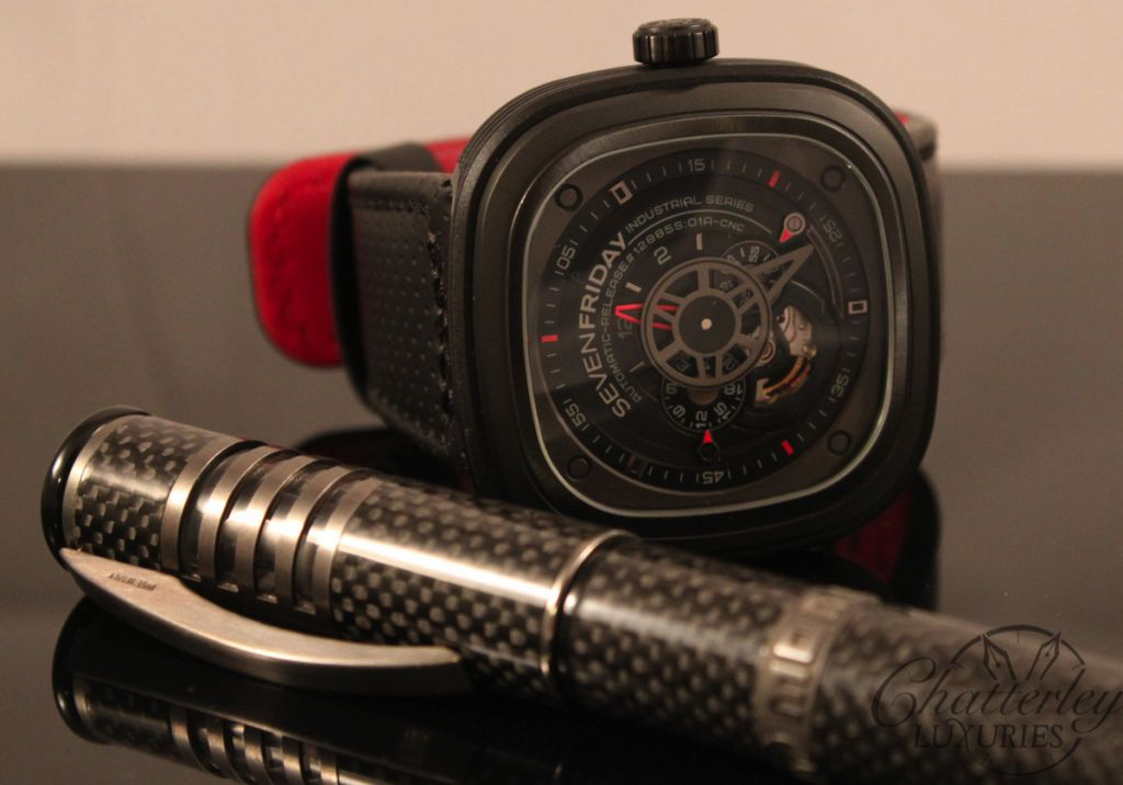 SevenFriday P3 With Momo Stealth