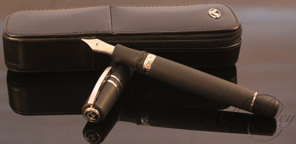 Visconti 25th Anniversary Homo Sapiens Steel Age Maxi Fountain Pen