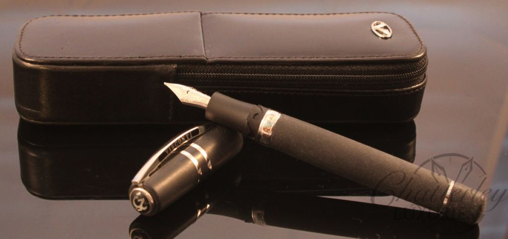 Visconti 25th Anniversary Homo Sapiens Steel Age Midi Fountain Pen