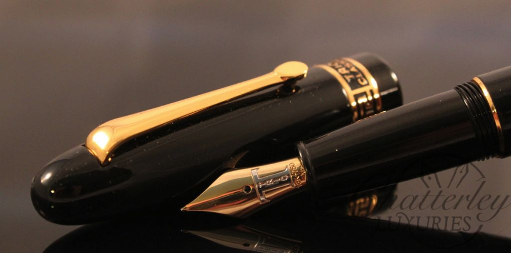 Danitrio Black Laquer Fountain Pen