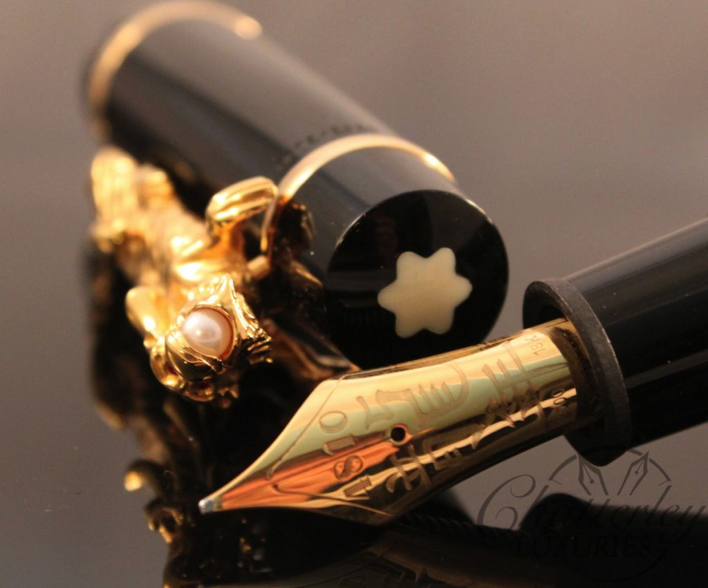 Montblanc Fountain Pen Limited Edition Year of the Golden Dragon-006