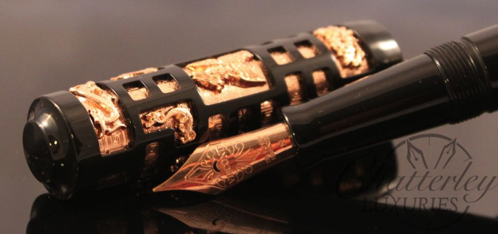 Visconti Limited Edition Fountain Pen 25th Anniversary Forbidden City-007