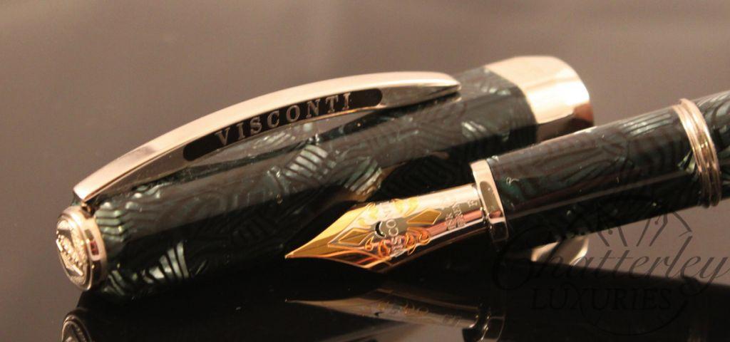 Visconti Limited Edition Fountain Pen Aida Celluloid-003