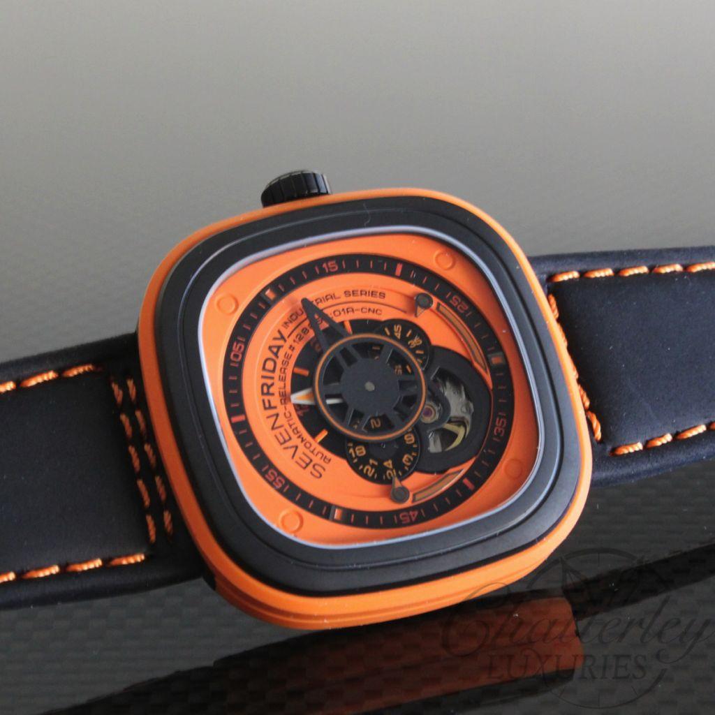 Sevenfriday P1/03 Orange Watch   eBay