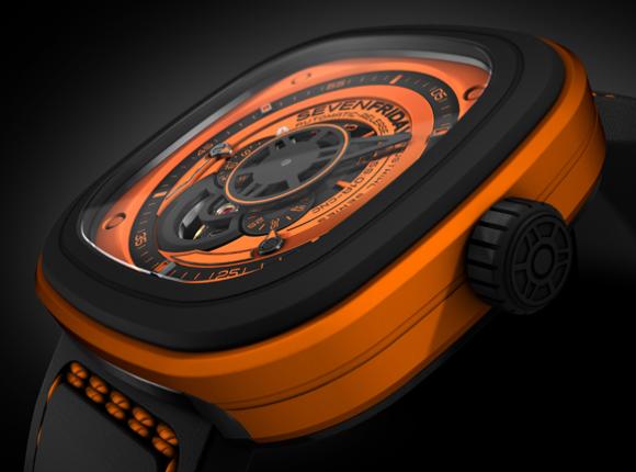 sevenFriday Orange Silicon Strap 28 mm price in Dubai, UAE ...