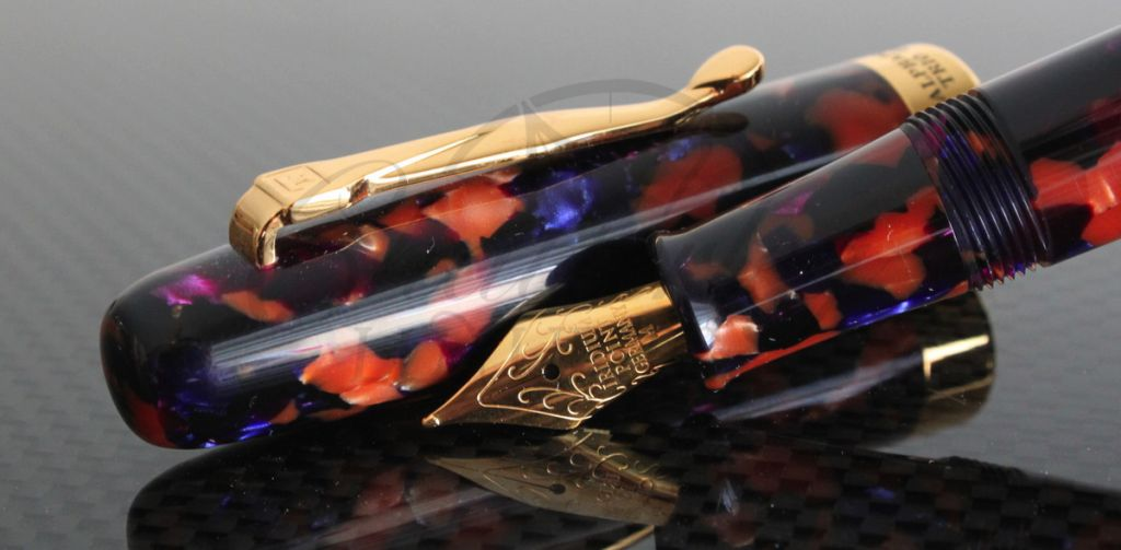 Danitrio Celluloid Alpha Fountain Pen Steel Iridium Tip