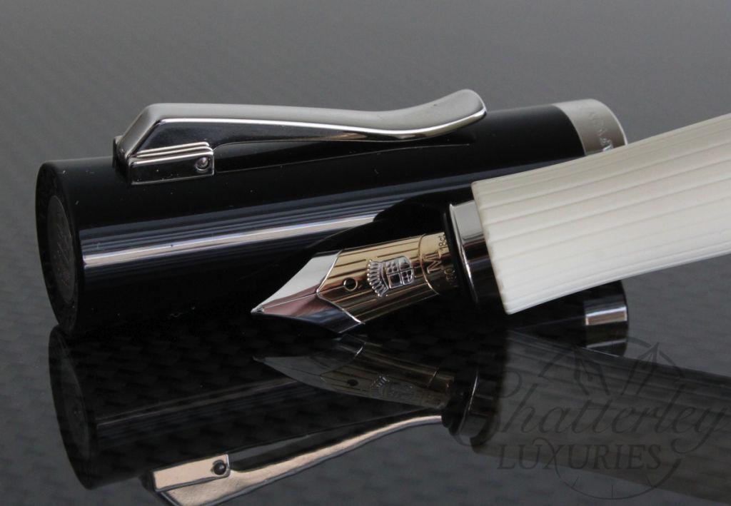 Faber Castell Intuition Ivory Fluted Ribbed Fountain Pen