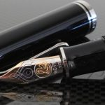 Pelikan M805 Black Blue Fountain Pen