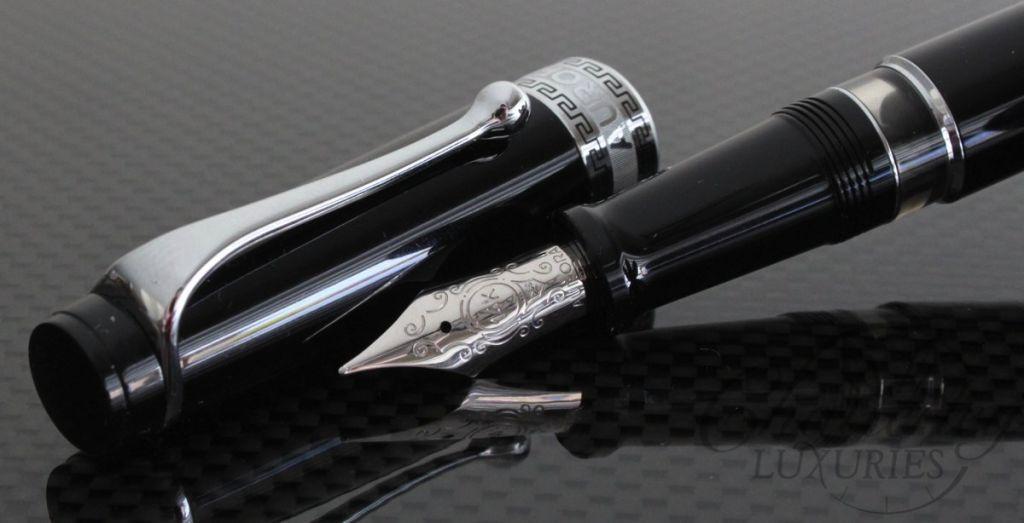 Aurora Black Optima Fountain Pen3