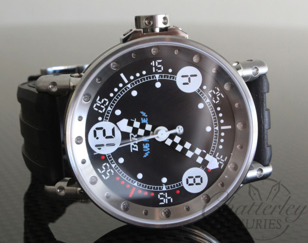 BRM Bernard Richards Manufacture V6-44 Hybride BG Black Dial