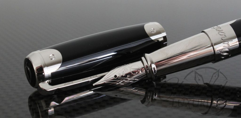 ST Dupont Chinese Laquer Malletier Fountain Pen