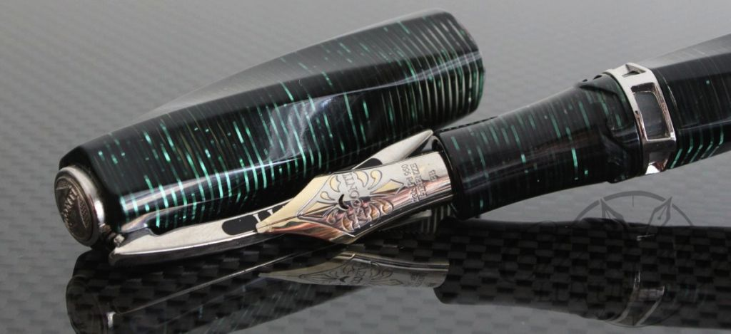 Visconti Green Cosmopolitan Limited Edition Fountain Pen2