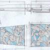Stipula Erturia Skeleton sketch of Fountain Pen
