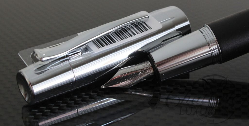 Graf Von Faber Castell E-Motion Black Fountain Pen