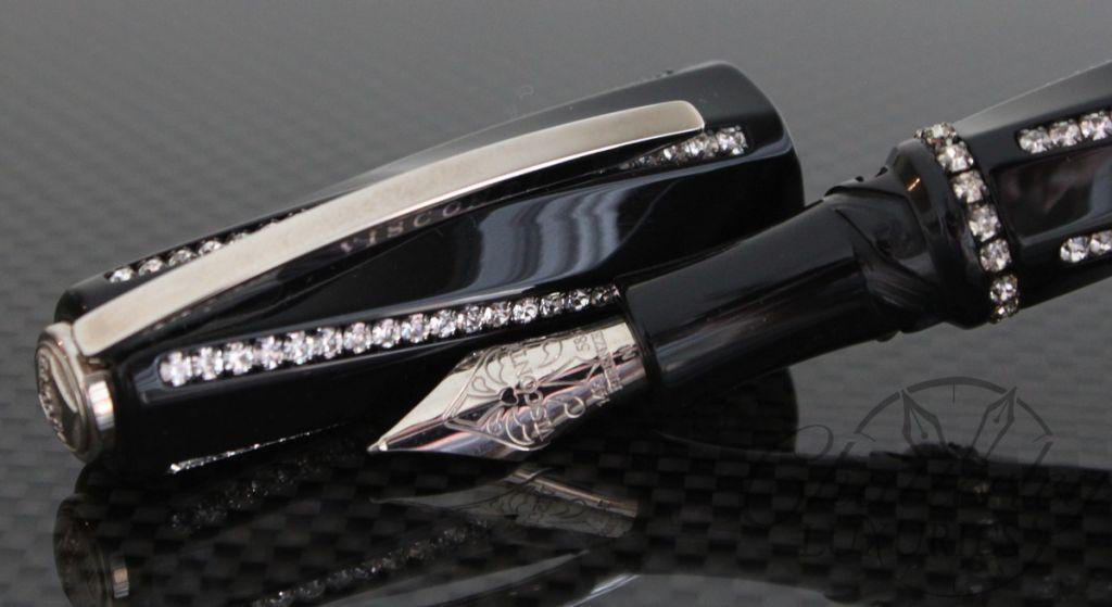 Visconti Divina Royale Black Fountain Pen