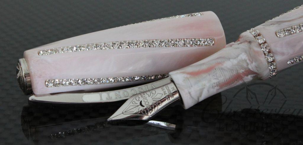 Visconti Divina Royale Peau D'Ange Fountain Pen