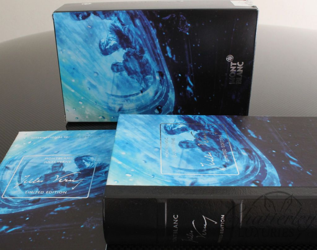 montblanc writers limited edition jules verne fountain pen. Black Bedroom Furniture Sets. Home Design Ideas