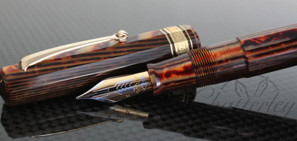 Omas Paragon Arco Celluloid 1991 Edition Fountain Pen