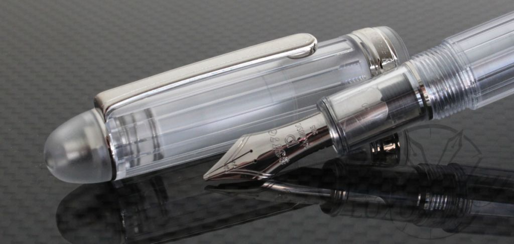 Platinum Nice Demonstrator Fountain Pen