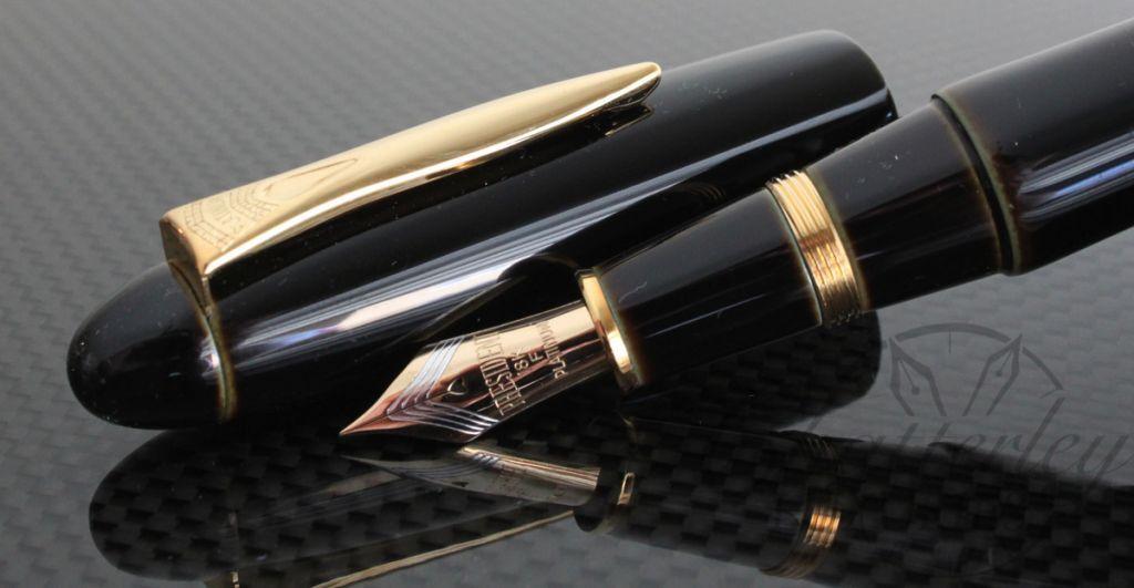 Platinum Urushi Izumo Soratame Fountain Pen