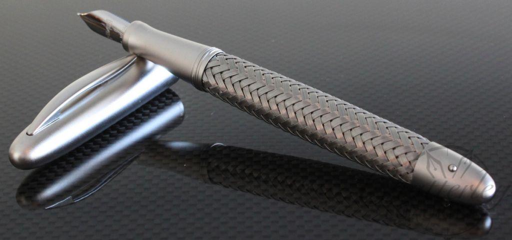 Porsche Design Tec Flex Stainless Steel Fountain Pen